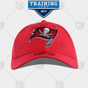 Gorra New era Tampa bay Buccaneers training 9 twenty roja