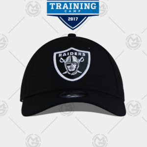 Gorra New era Oakland Raiders 9 Twenty curva negra