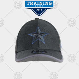 Gorra New era Dallas Cowboys 39 thirty gris obscuro 0191322552114