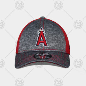 GORRA NEW ERA LOS ANGELES ANGELS 9 FORTY CURVA GRIS AJUSTABLE f0fd9ff851a