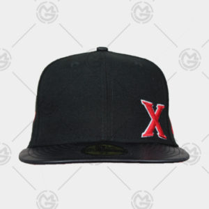 Gorra-new-era-Tijuana-xolos--X's-roja-59-fifty-0888497406416-vicerapiel-negra-729