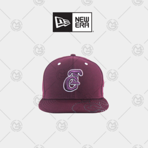 NEW ERA TOMATEROS DE CULIACÁN PLANA COLOR GUINDA 59FIFTY 11839521