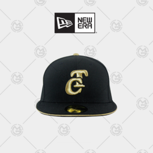 NEW ERA TOMATEROS DE CULIACAN PLANA COLOR NEGRO / DORADO 59 FIFTY 11206921